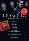 INSANIA - SPAM TOUR 2017 - PLZEN