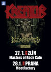 KREATOR, DECAPITATED, DAGOBA