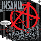 INSANIA - Trans-Mystic Anarchy [2LP, 2015]