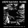 "EXTREME NOISE TERROR | SLANG ""Hardcore Attack Of The Low Life Dogs"" EP [split 7"" EP, 2010]"