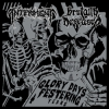"BRUTALLY DECEASED | INTERMENT ""Glory Days, Festering Years"" [split CD, 2013]"