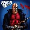 """RAZOR """"Shotgun Justice"""" [LP, 1990/2016]"""