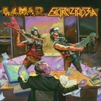 EXORCIZPHOBIA | LAHAR [split CD, 2013]