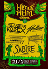 HEAVY METAL THUNDER II (ATLANTEAN KODEX, SABIRE, SHADOW WARRIOR, STALLION, TENSION)