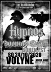 HYPNOS - THE BLACKCROW TOUR 2020 - VOLYNE
