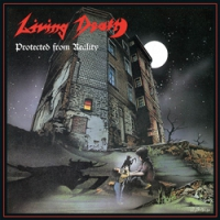 """LIVING DEATH """"Protected From Reality"""" / """"Back To The Weapons"""" [CD, 1987/1986/2015]"""